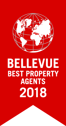 Bellevue Best Property Agent 2018 Logo