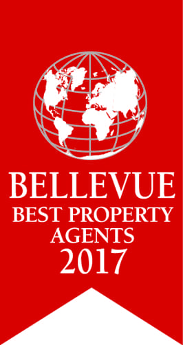 Bellevue Best Property Agent 2017 Logo