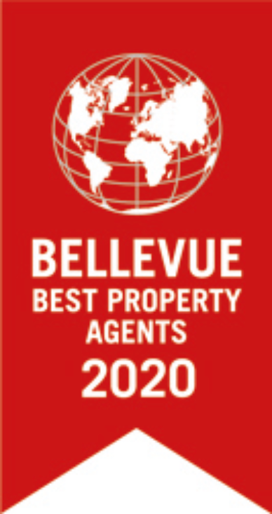 Bellevue Best Property Agent Logo